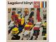 Catalog No: c71dk2  Name: 1971 Medium Danish Legoland bilnyt (3522-Da)