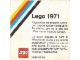 Catalog No: c71es  Name: 1971 Large Spanish (3551-OS) (Spansk)