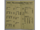 Catalog No: c71uk2  Name: 1971 UK Pricelist