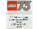 Catalog No: c73it3  Name: 1973 Small Italian Foldout (97511-It)