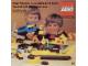 Catalog No: c77be2  Name: 1977 Large Belgium Pour Maîtres-Constructeurs LEGO 57 (98761-B)
