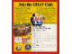 Catalog No: c84LCin  Name: 1984 Insert - Lego Club UK (184803)