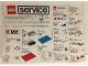 Catalog No: s89eu3  Name: 1989 Medium Service Packs DK/N/S/SF (107380/107480)