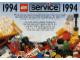 Catalog No: s94uk  Name: 1994 Medium Service Packs UK (923323-UK)