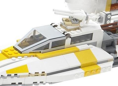 BrickLink - Set 10134-1 : Lego Y-wing Attack Starfighter - UCS [Star ...