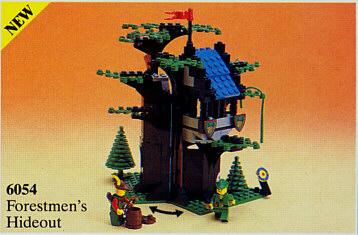 Bricklink set lego forestmen s hideout castle