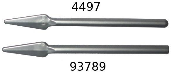 Lego 32373 minifigure weapon pike spear blue flexible rubber