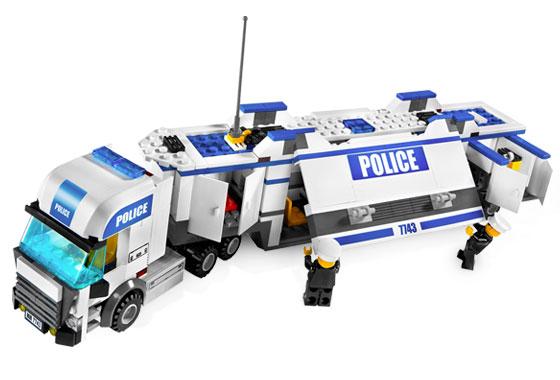 Bricklink Set 7743 1 Lego Police Command Center Towncity