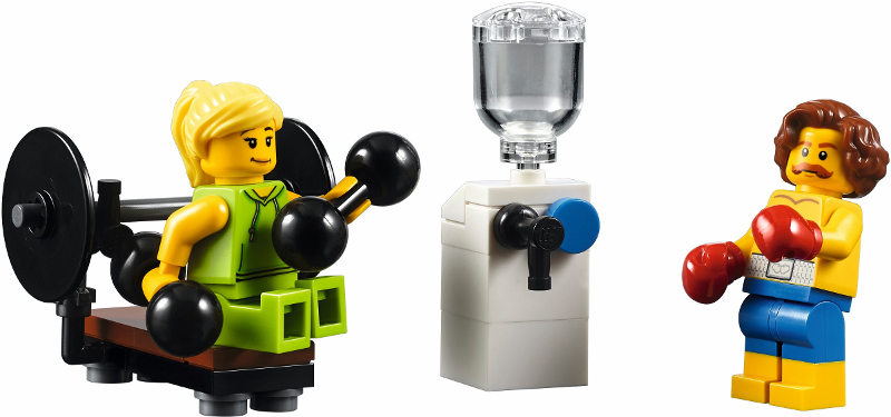 Lego JUKE BOX pour Minifigurine Personnage Minifig 10260 DINER NEUF !