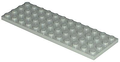 Lego 3029 Plate 4 X 12 Studs x1