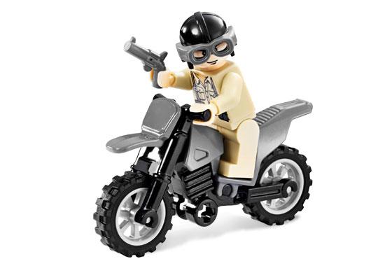 Indiana Jones Motorcycle Chase LEGO 7620 NO BOX INDIANA JONES 2008