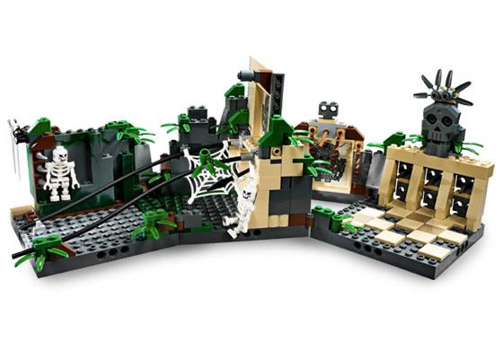Indiana Jones LEGO 7623 STICKER SHEET Temple Escape