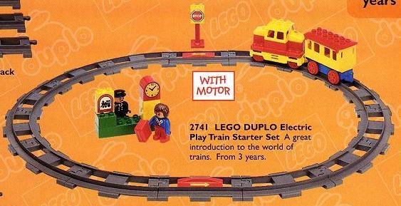 Bricklink Set 2741 1 Lego Electric Train Starter Set Duplo Duplo Train Bricklink Reference Catalog