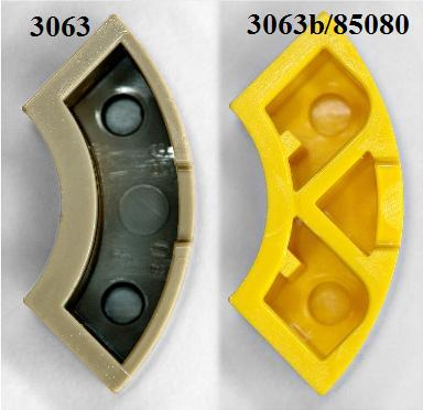 LEGO® Tan Brick Round Corner 2 x 2 Macaroni Part No 85080