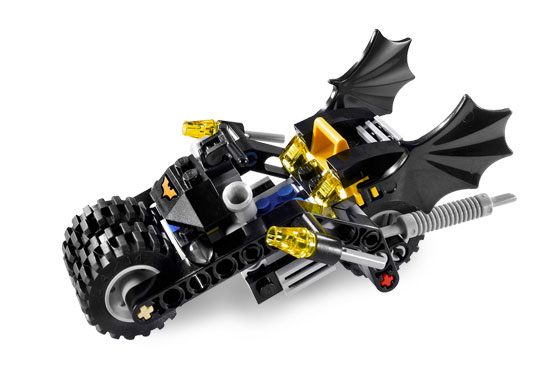 Bricklink Set 7886 1 Lego The Batcycle Harley Quinns Hammer