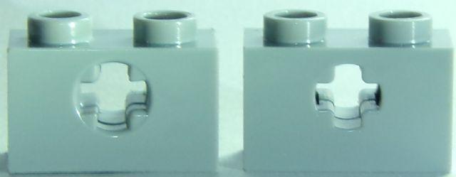 Konverter in 1x2 earth blue Neuware. 4 x LEGO® 11211 Systemstein