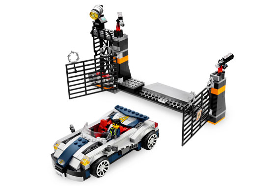 Turbocar Chase Lego Ultra Agents STICKER SHEET ONLY for Lego set 8634 Mission 5