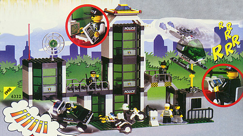 BrickLink - Set 6332-1 : Lego Command Post Central [Town:Town Jr.:Police] -  BrickLink Reference Catalog