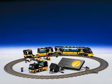 Lego 9V RC Eisenbahn TRAIN 4559 Ladegüter Ladegut Geld CARGO