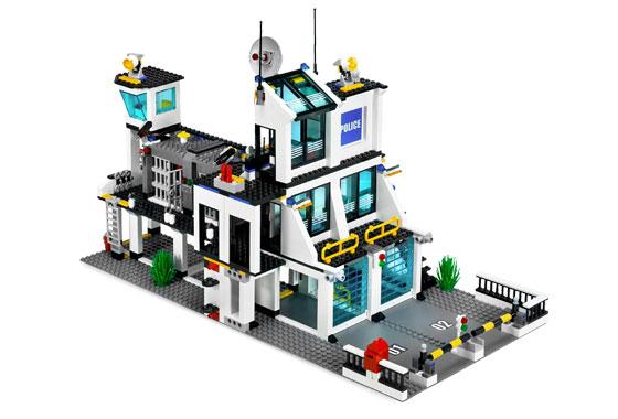 Bricklink Set 7744 1 Lego Police Headquarters Towncitypolice