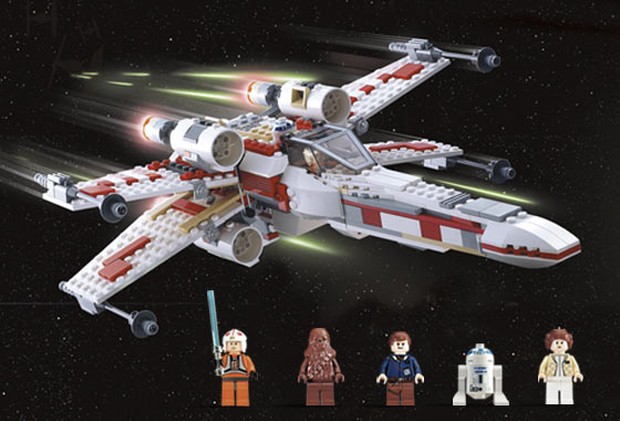 Bricklink Set 6212 1 Lego X Wing Fighter Star Warsstar Wars