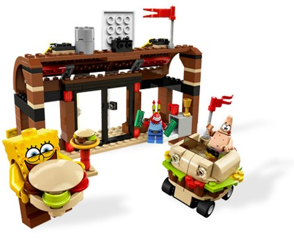 Bricklink Set 3833 1 Lego Krusty Krab Adventures Spongebob