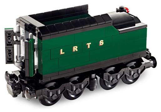 Custom Precut Aufkleber//Sticker passend für LEGO® 10194 RC Train Emerald Night