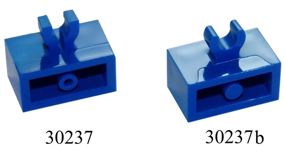 Modified 1 x 1 with Clip Vertical Lego 20x Dark Bluish Gray Plate Type 3