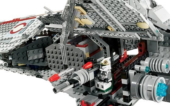 BrickLink - Set 8039-1 : Lego Venator-Class Republic Attack Cruiser [Star  Wars:Star Wars Clone Wars] - BrickLink Reference Catalog