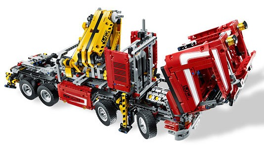 BrickLink - Set 8258-1 : Lego Crane Truck [Technic:Model:Traffic] -  BrickLink Reference Catalog
