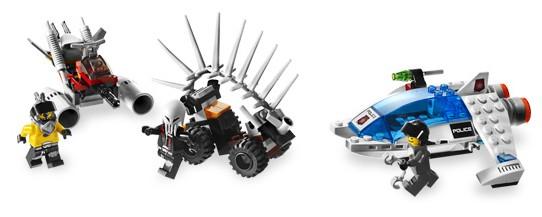 LEGO Space Police Aufkleber Sticker aus Squidman´s Pitstop 5980 Neu