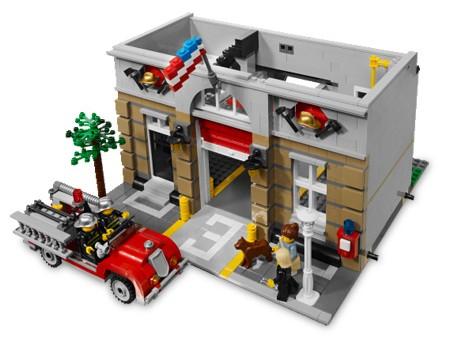 Bricklink Set 10197 1 Lego Fire Brigade Modular Buildingsfire