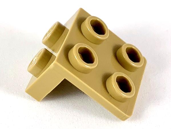 Lego 1x2 2x2 Lot Of 8 Light Gray 1 x 2 2 x 2 Angle Plate 92411