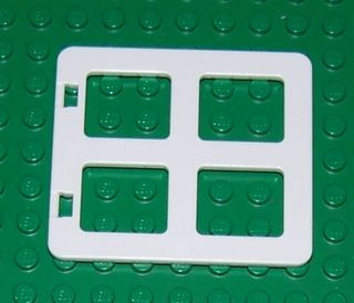 NEW LEGO DUPLO Part Number 90265 in White