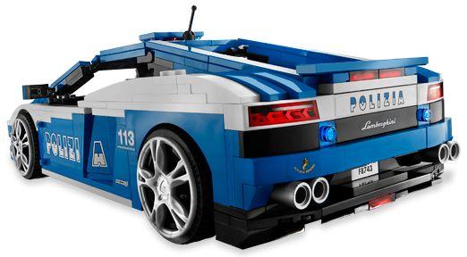 Bricklink Set 8214 1 Lego Lamborghini Gallardo Lp 560 4 Polizia