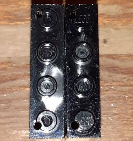 5 NEW LEGO Trans-Black Door 1 x 4 x 6 with Stud Handle