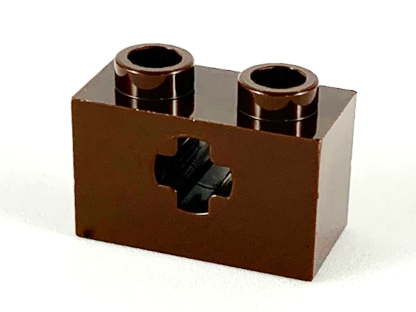 x1 Lego 32064-Brick 1x2 with axle hole