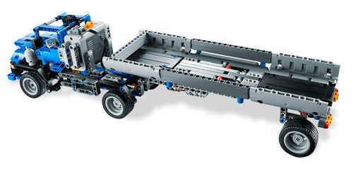 Bricklink Set 8052 1 Lego Container Truck Technicmodel