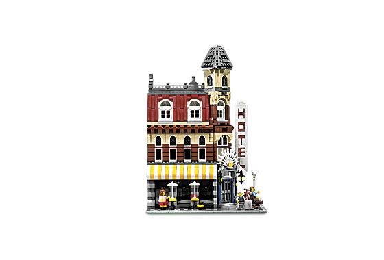 BrickLink - Set 10182-1 : Lego Cafe Corner (Café Corner) [Modular ...