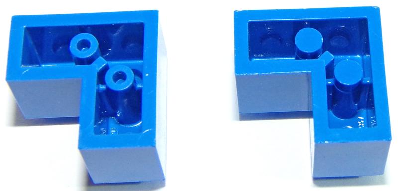LEGO ® 5x 30237 Neu hellgrau 167 Stein Scharnier  Brick Modified 1 x 2 with Cli