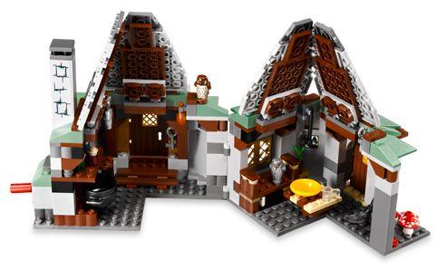 LEGO HARRY POTTER//CASTLE COMPLETE STICKER SHEET SET 4738 HAGRID/'S HUT