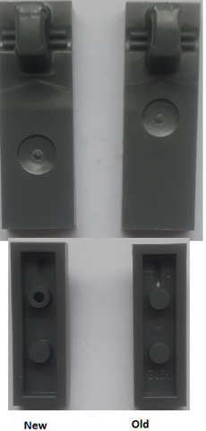 LEGO 44300 1X3 Hinge Tile Locking w 1 Finger PT-A-6 Select Colour