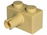 4x Lego Brick Modified 1x2 Stift Gelb//Gelb 2458 Neu Lego