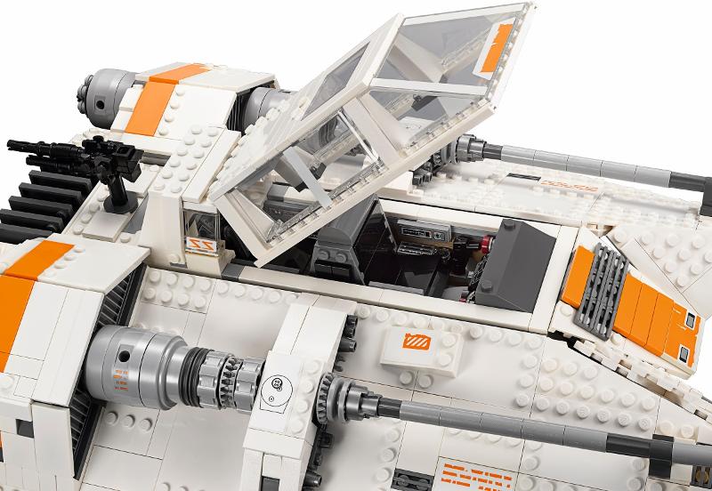 Precut Custom Replacement Stickers for Lego Set 75144 UCS Snowspeeder 2nd e