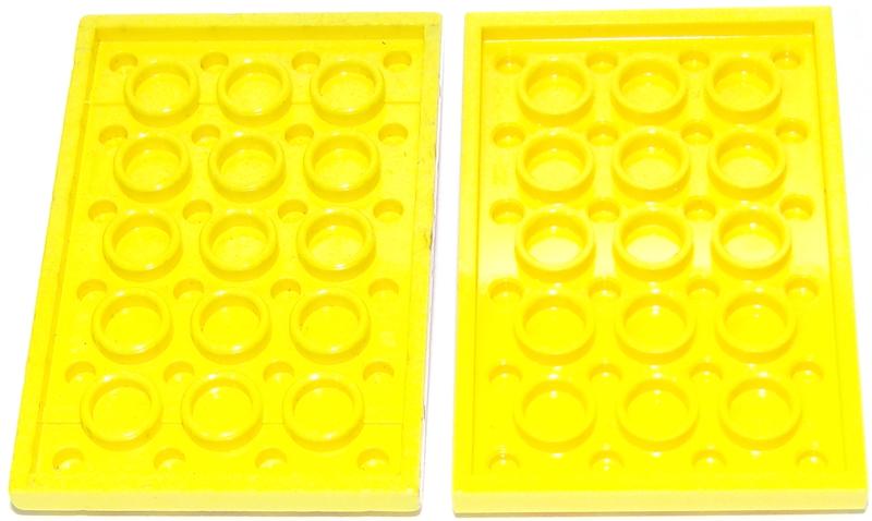LEGO 3032 PIASTRA 4x6 ROSSO SCURO DARK RED USATO 6020122