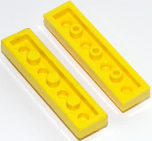 LEGO 20x Platte 1x4 Noppen in Medium Azure 3710 N21 .