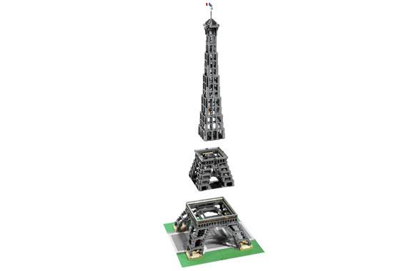 Bricklink Set 10181 1 Lego Eiffel Tower 1300 Scale Sculptures