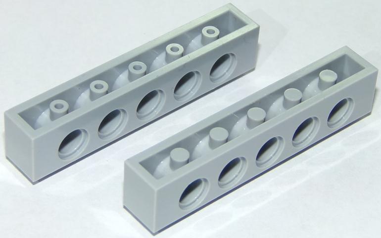 Lego Technic Brick brique 1x6 6x1 3894 Gray//Gris x8 Choose Quantity x2