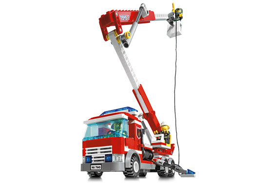 Bricklink Set 7945 1 Lego Fire Station Towncityfire