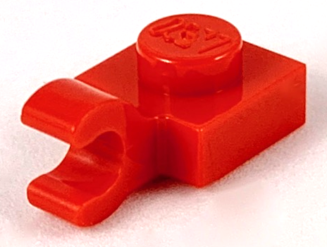 Parts Lot thick open O clips Lego Plate Modified 4 x 4 with Clips Horizontal